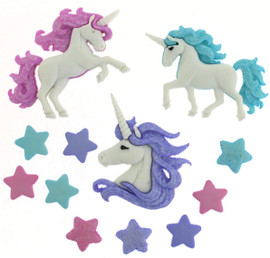Dress It Up Magical Unicorns Stars