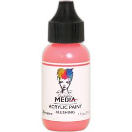 Dina Wakley Media Acrylic Paint 1oz - Blushing