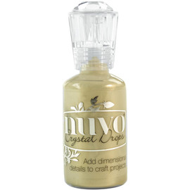 Nuvo Crystal Drops 1.1oz - Pale Gold