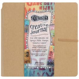 Dylusions Creative Journal Kraft 8x8