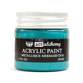 Finnabair Art Alchemy Acrylic Paint - Mermaid Teal