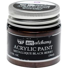 Finnabair Art Alchemy Acrylic Paint - Blackberry