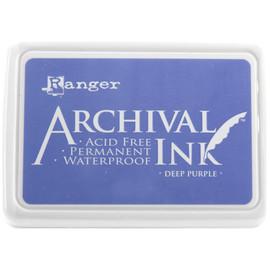 Archival Ink Pad - Deep Purple