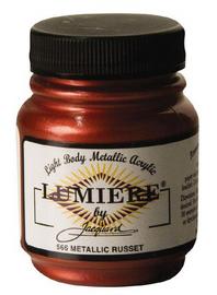 Lumiere Acrylic Paint  2.25oz – Metallic Russet