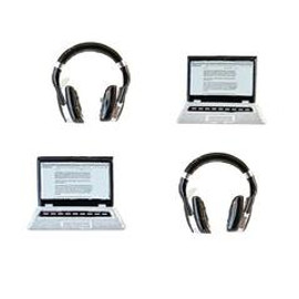 Eyelet Outlet Laptop Headphone Brads