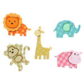 Dress it up Baby Safari
