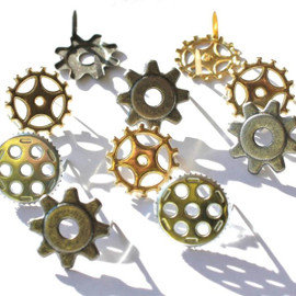 Eyelet Outlet Gears Cogs Brads