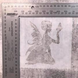 Imagine If Stencil - Fairy