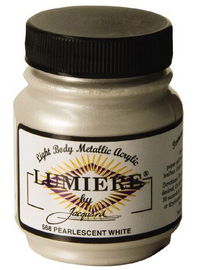 Lumiere Acrylic Paint  2.25oz – Pearl White