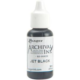 Ranger Archival Pad Reinker - Jet Black