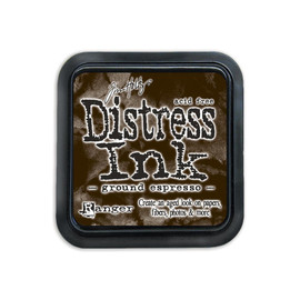 Tim Holtz Distress Ink Pad - Ground Espresso