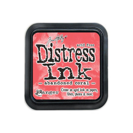 Tim Holtz Distress Ink Pad - Abandoned Coral