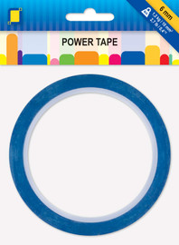 Power blue Double Sided Tape 6mm