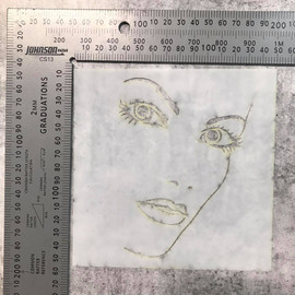 Imagine If Stencil - Face 2 Aly