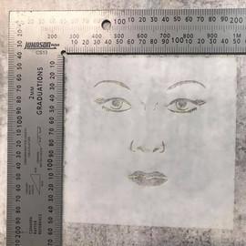 Imagine If Stencil - Face 1 Sidney
