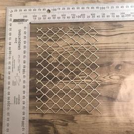 Chicken Wire -Chipboard