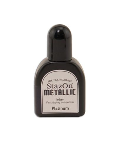 StazOn Metallic Reinker - Platinum