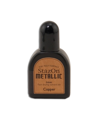 StazOn Metallic Reinker - Copper
