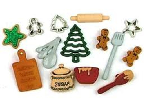Dress it up Christmas Cookies