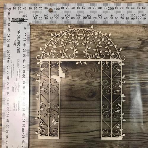 Ornate Arch  -Chipboard