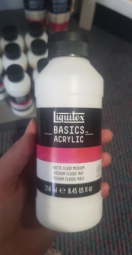 Liquitex Basics Matte Fluid