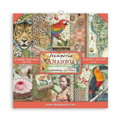 Stamperia Amazonia paper Pack 12x 12