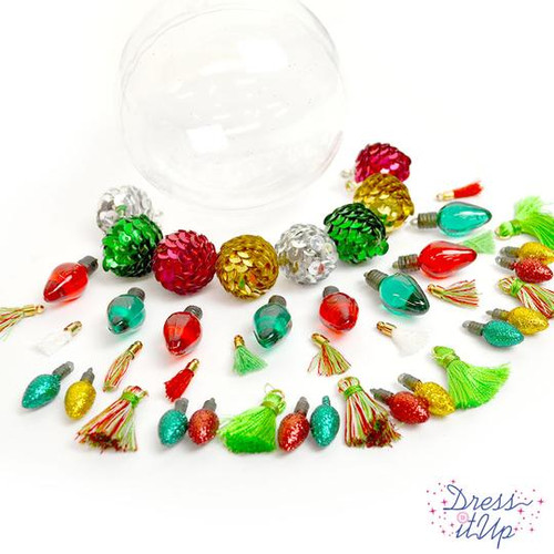 Jessie James Beads Ornament kit - Deck the halls