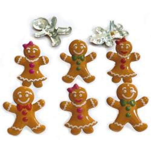 Eyelet Outlet Gingerbread Brads