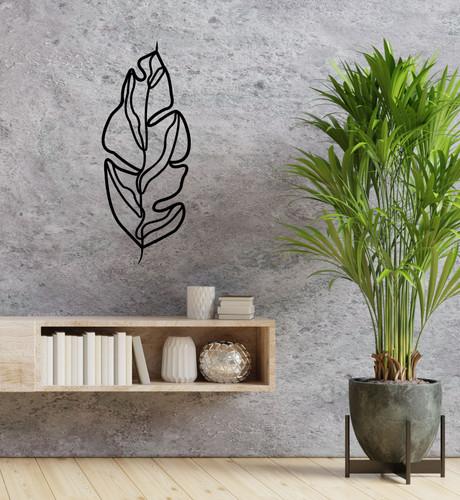 Lasercut Acrylic Wall Art - Leaf 2