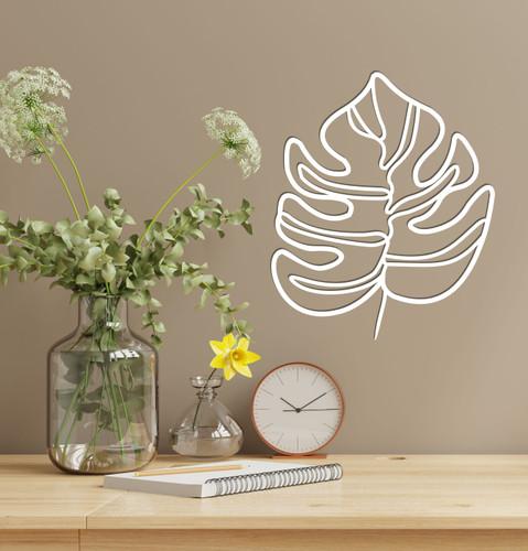 Lasercut Acrylic Wall Art - Leaf 3
