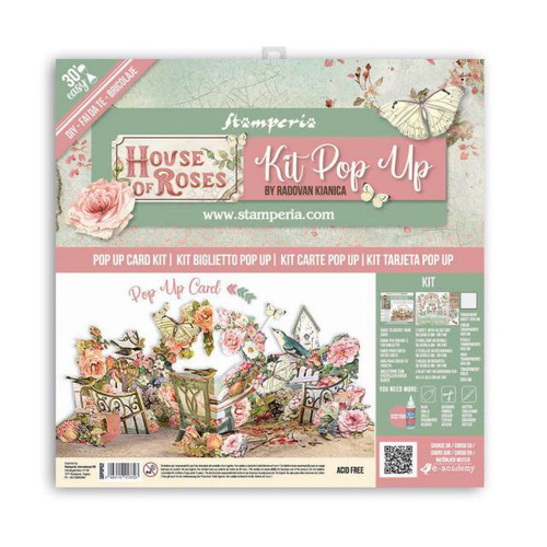 Pop Up Kit House of Roses