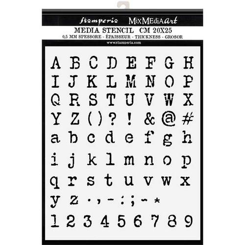 Stamperia Stencil - ABC