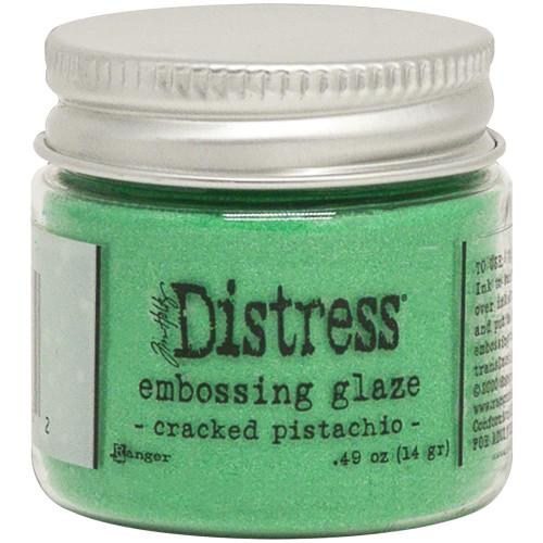 Tim Holtz Distress Embossing Glaze - Cracked Pistachio