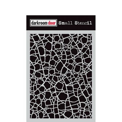 Darkroom Door Small Stencil - Crackle