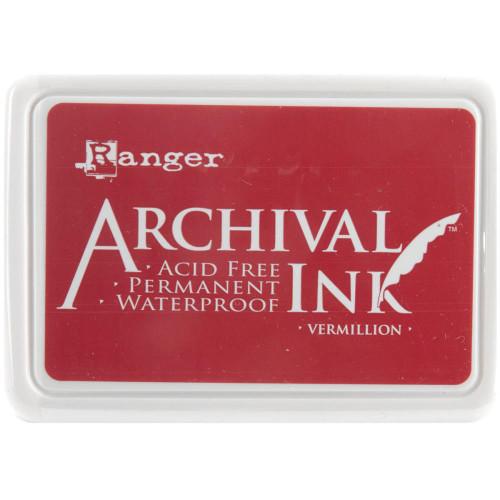 Archival Ink Pad - Vermillion