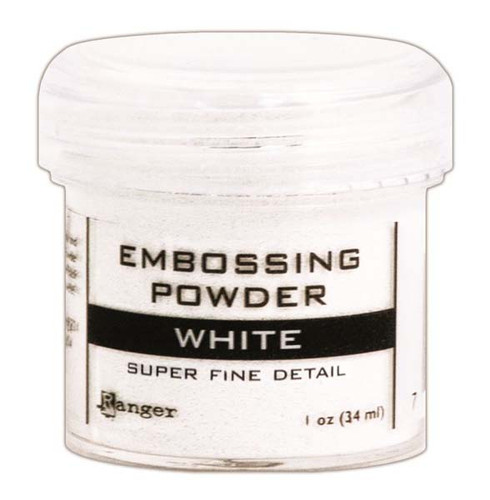 Ranger Embossing Powder Super Fine Detail - White