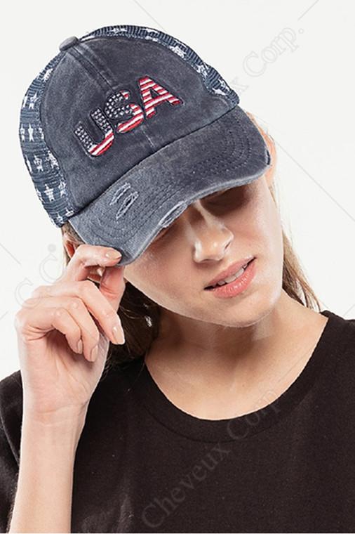 C.C BASEBALL CAP-BA-921-NAVY