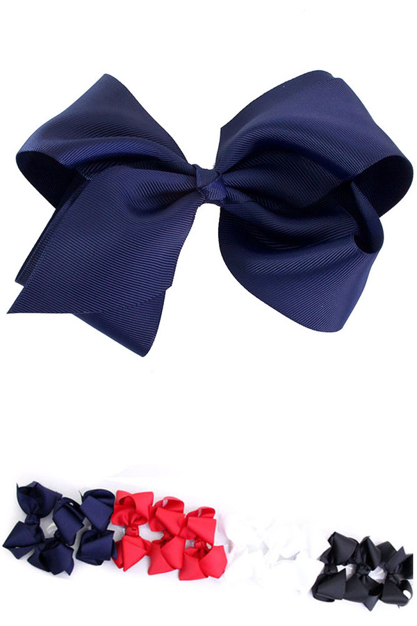 BOW- 4 INCH DHY526_TOMMY (12pc)