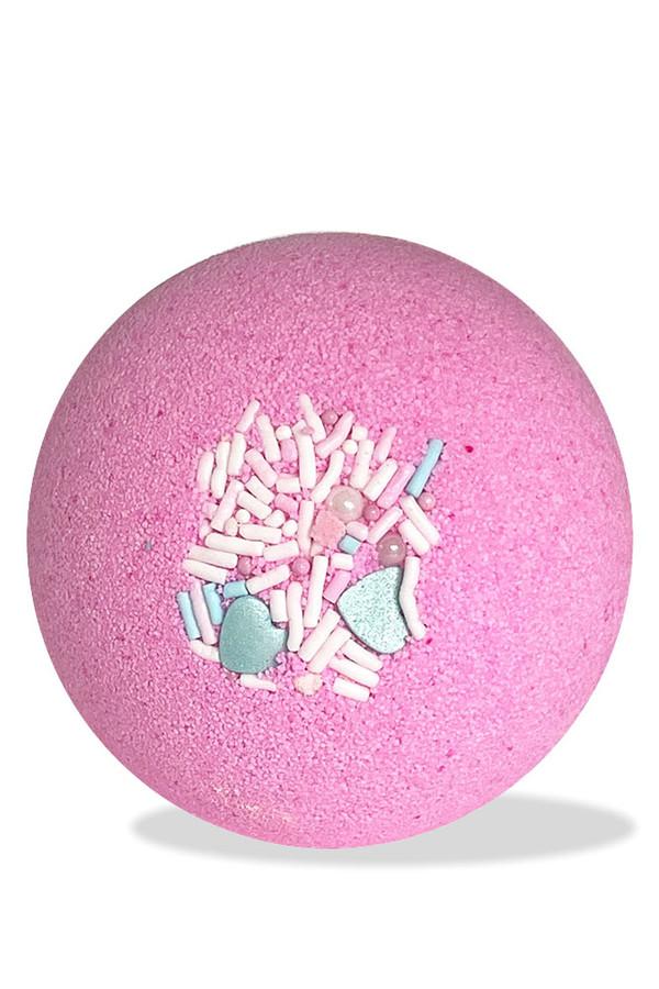 PINK PEARL FIZZY BATH BOMB