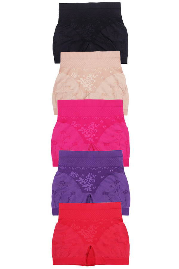 SOLID GIRDLE PANTY-6716 (12pc)