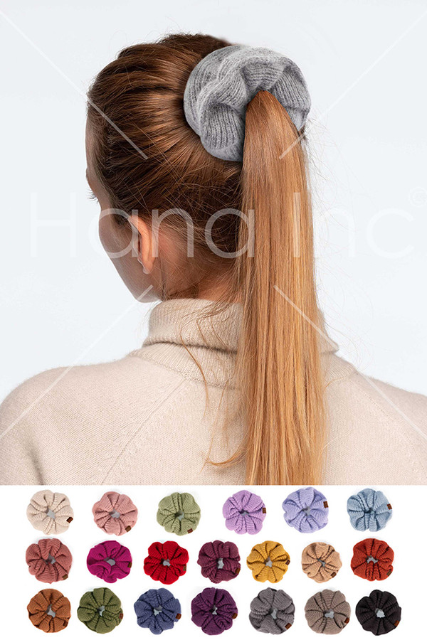 C.C Soft Knit Scrunchies-SCR-04