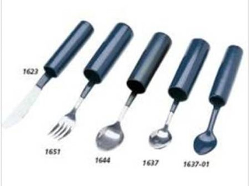 Teaspoon Built-up Handle Blue Stainless Steel