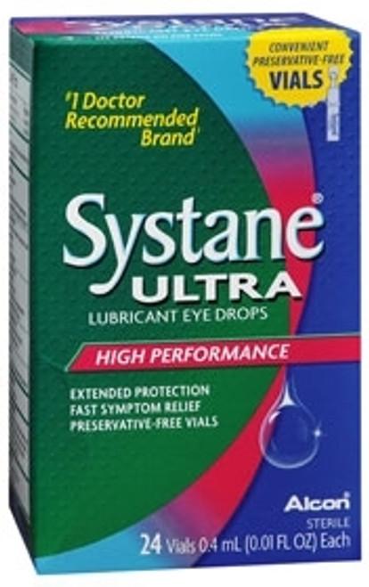 Systane Lubricant Eye Drops - Vial