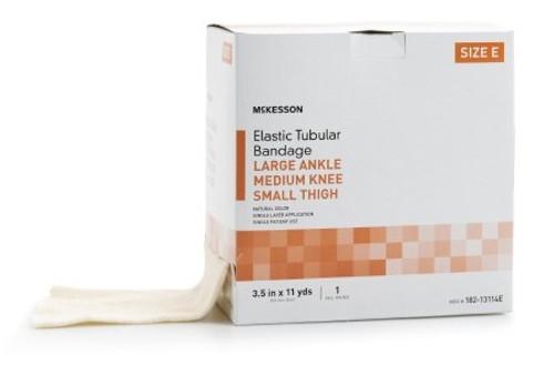 Tubular Support Bandage Standard Compression Pull On Natural Size E NonSterile