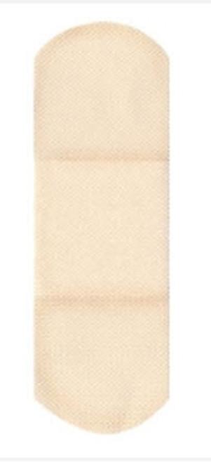 Adhesive Strip American White Cross Tricot Rectangle Tan Sterile