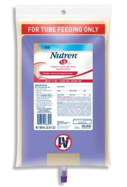 Tube Feeding Formula Unflavored, Nutren 1.5 - 1000 mL