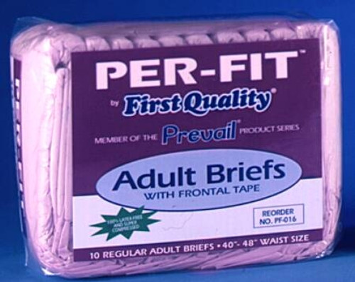 Brief Limited Mat Body Shaped, Prevail - Moderate-Heavy Absorbency