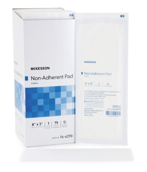 Non Adherent Dressing McKesson Nylon PolCHECKter Blend Sterile