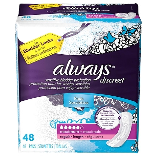 Incontinence Liner Always