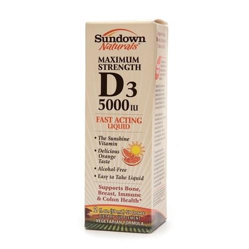 Vitamin D-3 Supplement Sundown Naturals